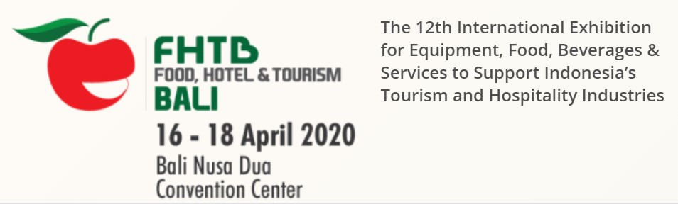 Food, Hotel & Tourism Bali 2020