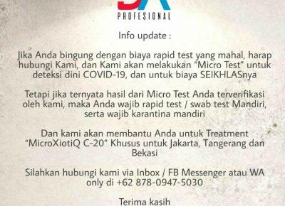 Micro Test Covid-19